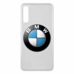 Чехол для Samsung A7 2018 BMW Logo 3D