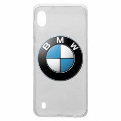 Чехол для Samsung A10 BMW Logo 3D