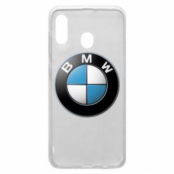 Чехол для Samsung A20 BMW Logo 3D