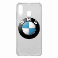 Чехол для Samsung A30 BMW Logo 3D