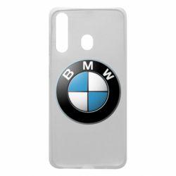 Чехол для Samsung A60 BMW Logo 3D