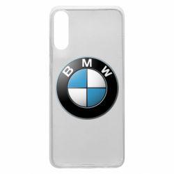 Чехол для Samsung A70 BMW Logo 3D