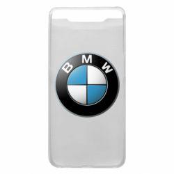 Чехол для Samsung A80 BMW Logo 3D