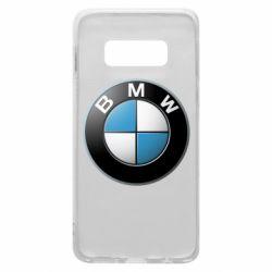 Чехол для Samsung S10e BMW Logo 3D