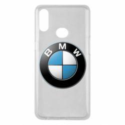 Чехол для Samsung A10s BMW Logo 3D