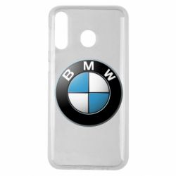 Чехол для Samsung M30 BMW Logo 3D