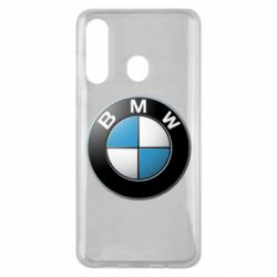 Чехол для Samsung M40 BMW Logo 3D