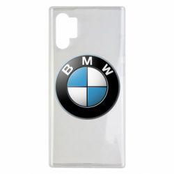 Чехол для Samsung Note 10 Plus BMW Logo 3D