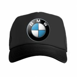 Кепка-тракер BMW Logo 3D - FatLine