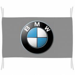 Флаг BMW Logo 3D
