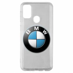 Чехол для Samsung M30s BMW Logo 3D
