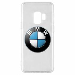 Чехол для Samsung S9 BMW Logo 3D