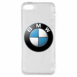 Купить Чехол для iPhone5/5S/SE BMW Logo 3D, FatLine