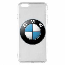 Чехол для iPhone 6 Plus/6S Plus BMW Logo 3D