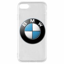 Чехол для iPhone 7 BMW Logo 3D