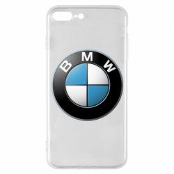Чехол для iPhone 7 Plus BMW Logo 3D