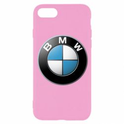 Чехол для iPhone 8 BMW Logo 3D