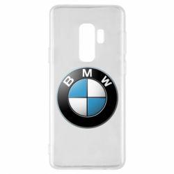 Чехол для Samsung S9+ BMW Logo 3D