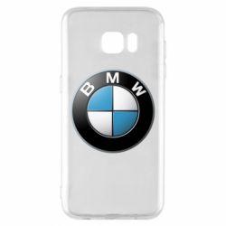 Чехол для Samsung S7 EDGE BMW Logo 3D