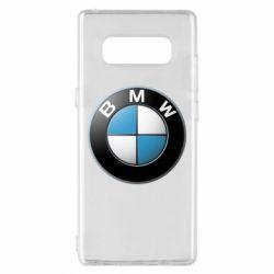 Чехол для Samsung Note 8 BMW Logo 3D