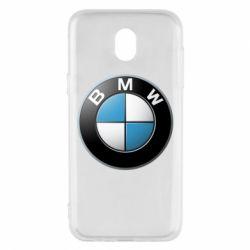 Чехол для Samsung J5 2017 BMW Logo 3D