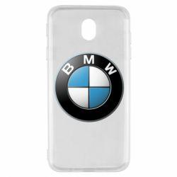 Чехол для Samsung J7 2017 BMW Logo 3D