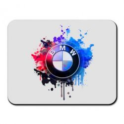 Коврик для мыши BMW logo art 2