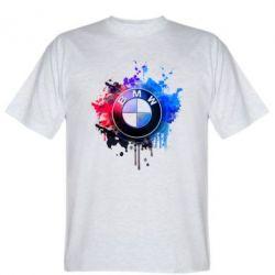 Мужская футболка BMW logo art 2 - FatLine