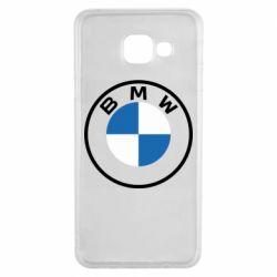 Чохол для Samsung A3 2016 BMW logotype 2020