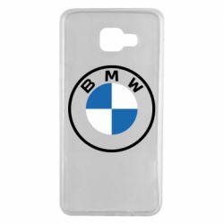 Чохол для Samsung A7 2016 BMW logotype 2020