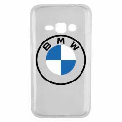 Чохол для Samsung J1 2016 BMW logotype 2020