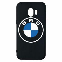 Чохол для Samsung J2 2018 BMW logotype 2020