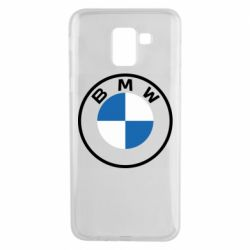 Чохол для Samsung J6 BMW logotype 2020