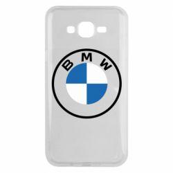 Чохол для Samsung J7 2015 BMW logotype 2020