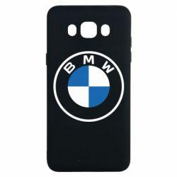 Чохол для Samsung J7 2016 BMW logotype 2020