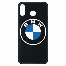 Чохол для Samsung A6s BMW logotype 2020
