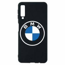 Чохол для Samsung A7 2018 BMW logotype 2020