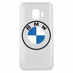 Чохол для Samsung J2 Core BMW logotype 2020