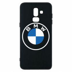 Чохол для Samsung J8 2018 BMW logotype 2020