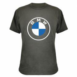 Камуфляжна футболка BMW logotype 2020
