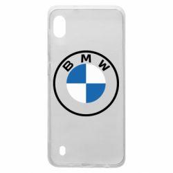 Чохол для Samsung A10 BMW logotype 2020