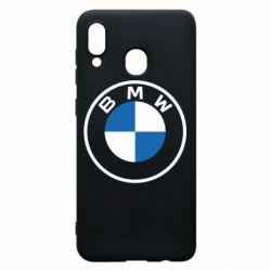 Чохол для Samsung A20 BMW logotype 2020