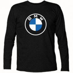 Футболка з довгим рукавом BMW logotype 2020