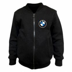 Дитячий бомбер BMW logotype 2020