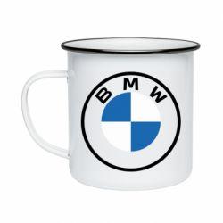 Кружка емальована BMW logotype 2020
