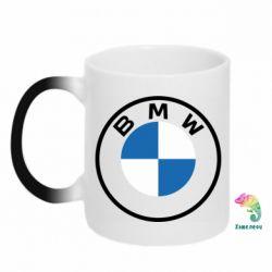 Кружка-хамелеон BMW logotype 2020