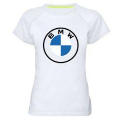 Жіноча спортивна футболка BMW logotype 2020