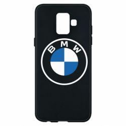 Чохол для Samsung A6 2018 BMW logotype 2020