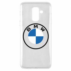 Чохол для Samsung A6+ 2018 BMW logotype 2020