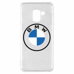 Чохол для Samsung A8 2018 BMW logotype 2020